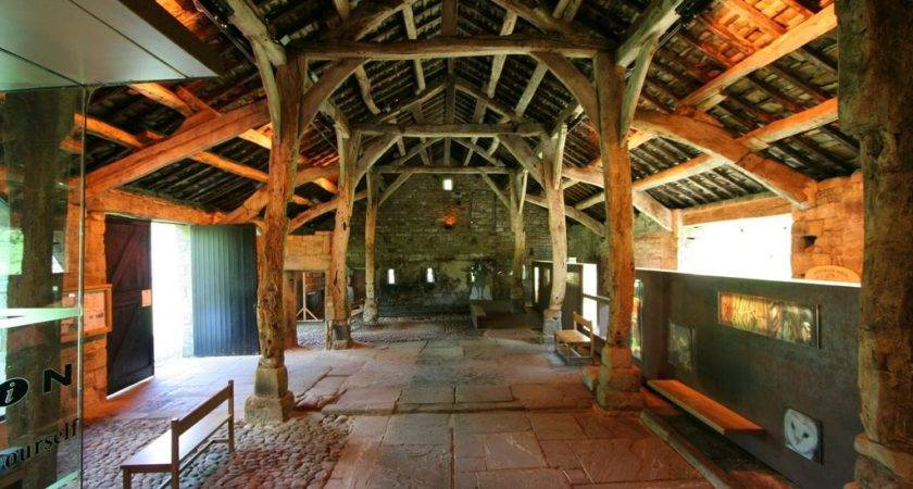 Aisled Barn Interior Wycoller Geograph