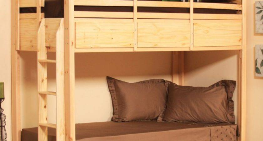 Alluring Cool Double Beds Bunk Bed Design