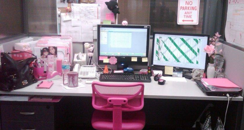 Amazing Cute Cubicle Decorating Ideas Work
