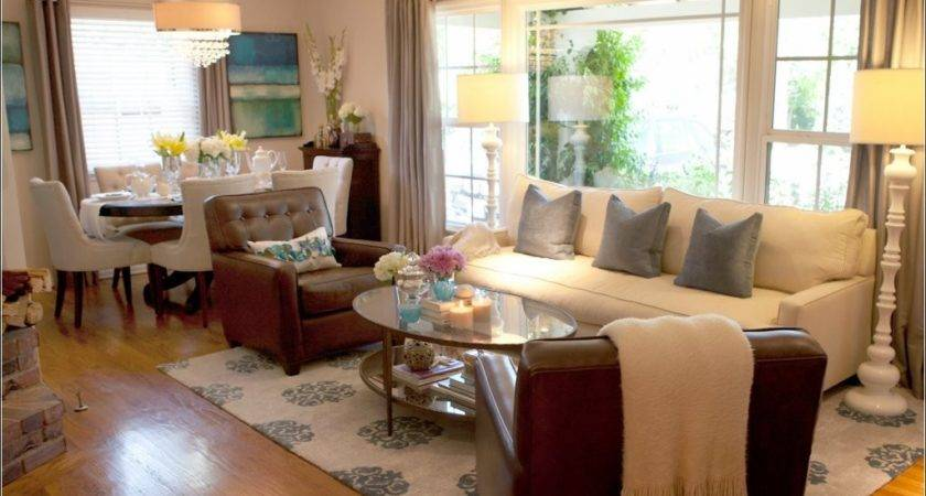 Amazing Fabulous Small Living Room Dining Combo