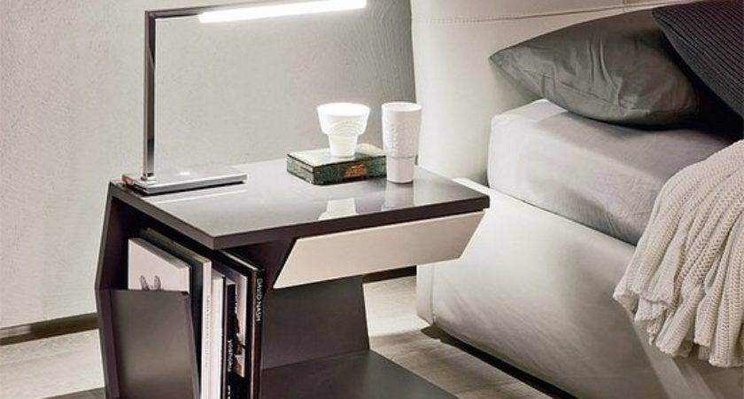 Amazing Ideas Bedside Tables Small Spaces