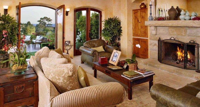 Amazing Living Rooms Tuscan Decor Housely