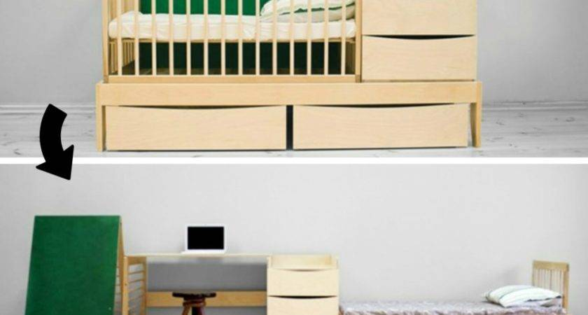 Amazing Multifunctional Furniture Small Spaces