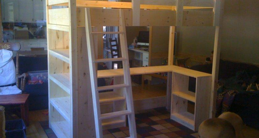 Ana White Claire Loft Bed Diy Projects