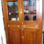 Antique Primitive Country Cupboard Circa Prock