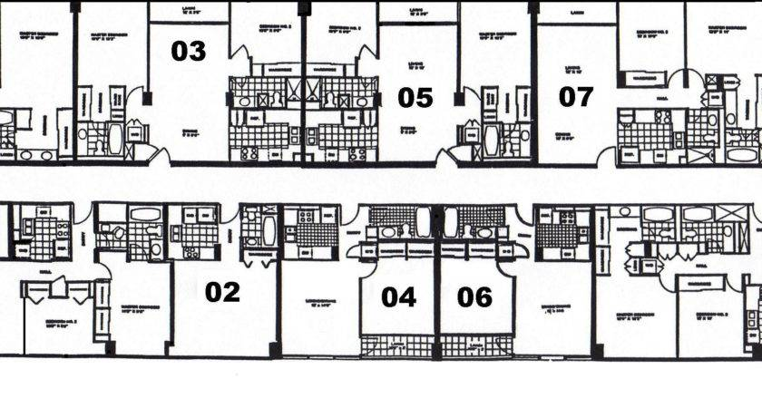 Apartment Building Floor Plans Homes
