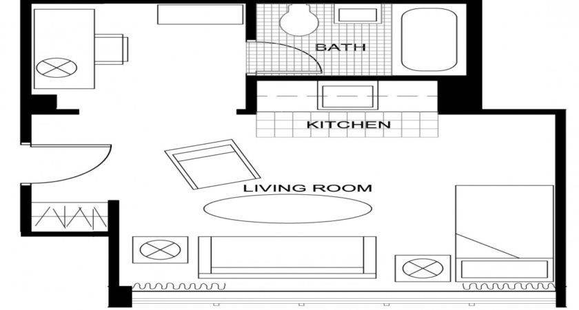 Apartment Ideas Studio Floor Plan