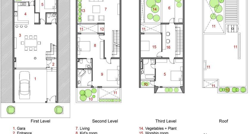 Apartment Modern Minimalist House Floor Plans Home Design