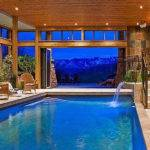 Architecture Luxury Home Plans Indoor Pool Swimming