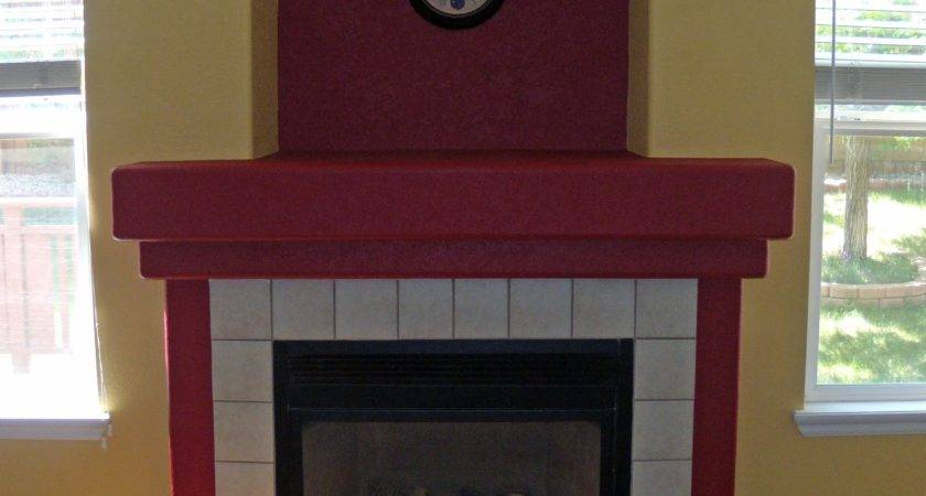 Ashly Simmons Fireplace Paint Colors