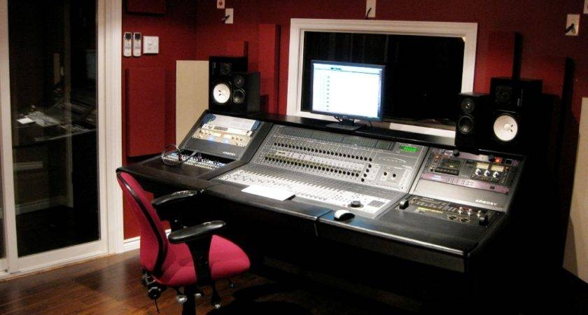Awesome Acoustic Design Home Studio