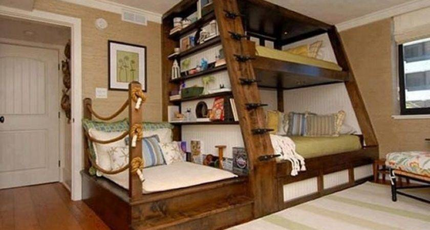 Awesome Bunk Beds Home Decorating Ideas