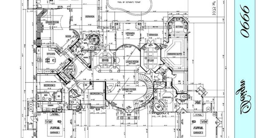 Awesome Commercial Architectural Plans Design