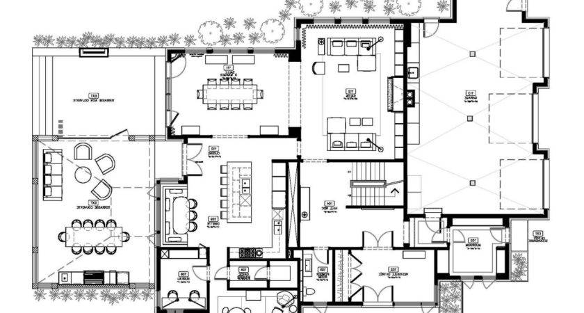 Awesome Modern Home Floor Plans Designs New Ideas Ultra