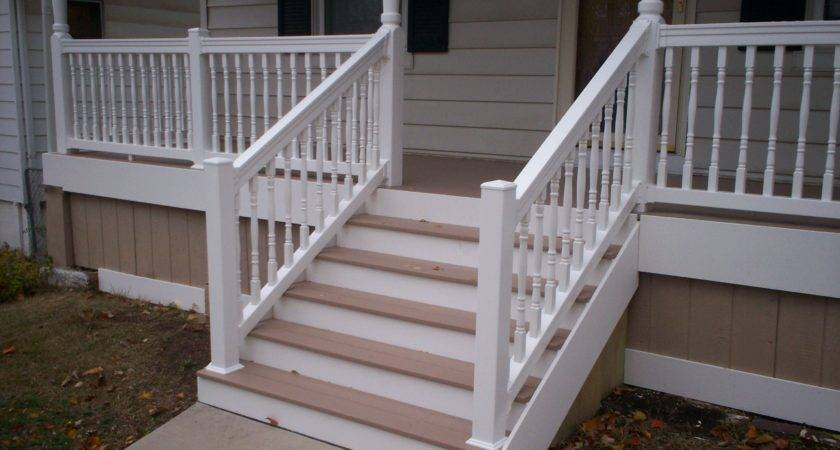 Azek Front Porch Vinyl Railings Columns