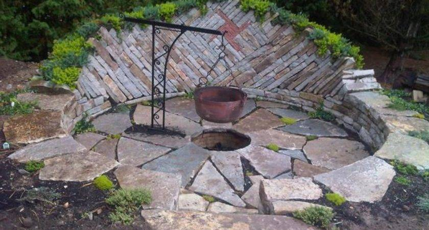 Backyard Design Ideas Fire Pit