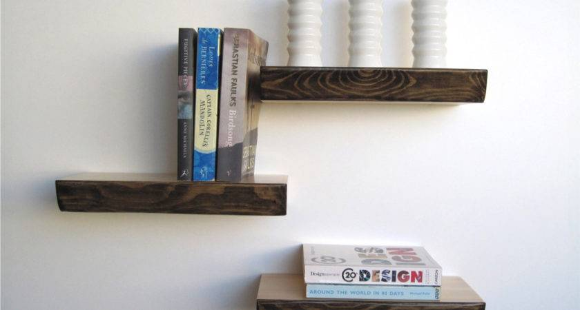 Bark Floating Shelf Homeware Furniture Gifts Mocha