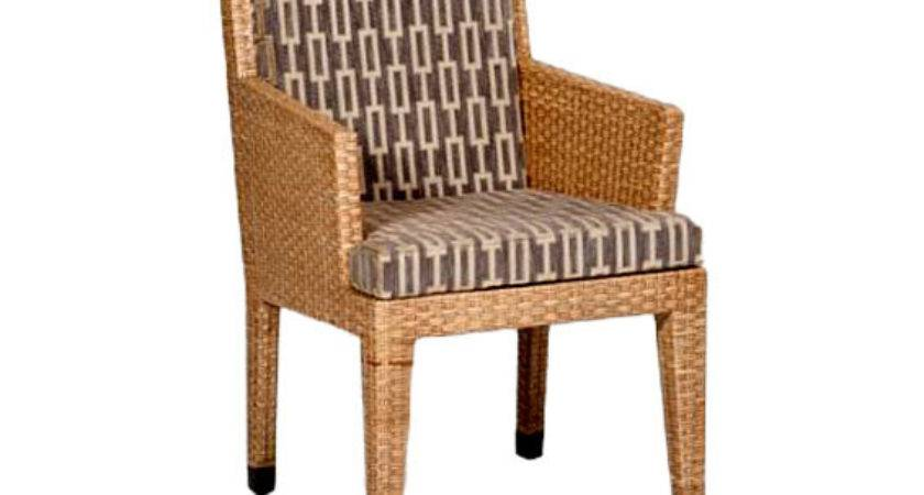 Basel Dining Arm Chair Wicker Material Indoor