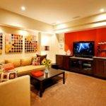 Basement Decorating Ideas Modern Rustic Themes