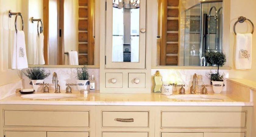 Bathroom Cabinet Ideas Casual Cottage