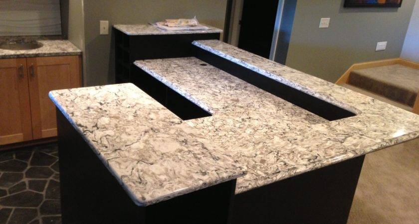 Bathroom Recycled Countertops Option Adorable Great