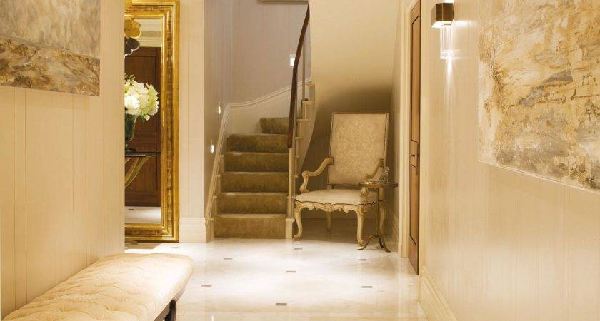 Bayswater Penthouse Apartment Entrance Hall Interior