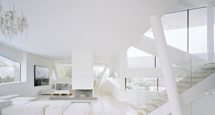 Beautiful All White Living Room Ideas