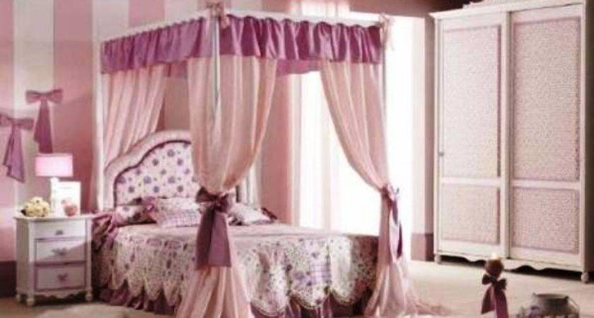 Beautiful Canopy Bed Hot Girls