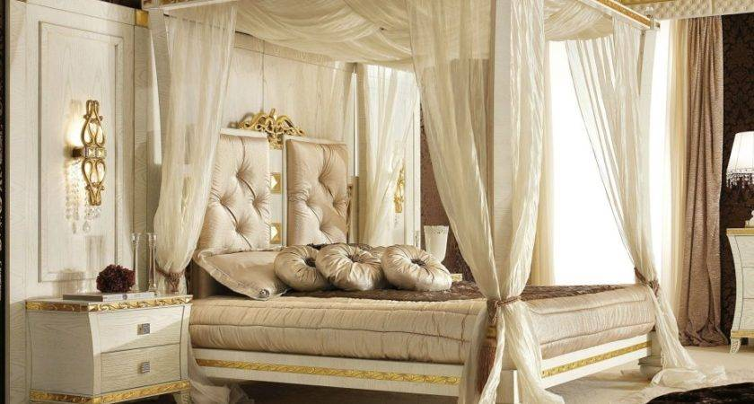 Beautiful Canopy Beds Romantic Master Bedroom