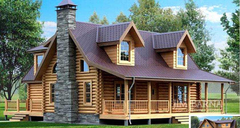 Beautiful Round Timber House Frame Houses