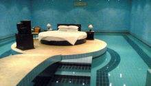Bed Surrounded Water