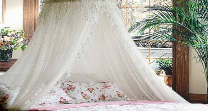 Bedroom Beautiful Canopy Beds White Curtain