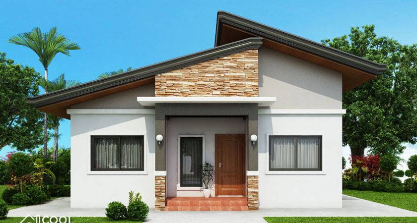 Bedroom Bungalow House Plan Cool Concepts