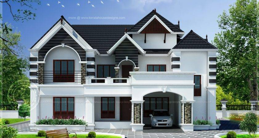 Bedroom Colonial Style House Home Kerala Plans