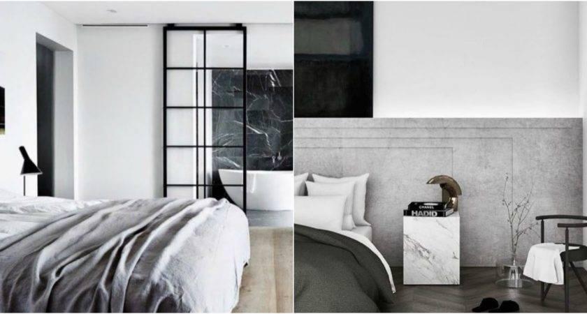 Bedroom Design Ideas Modern Monochromatic