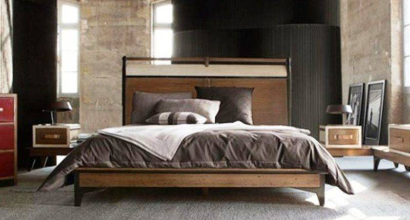 Bedroom Ideas Tumblr Guys Wooden Stained Nigh Stand