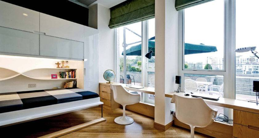 Bedroom Office Designs Suitable Your Own Home
