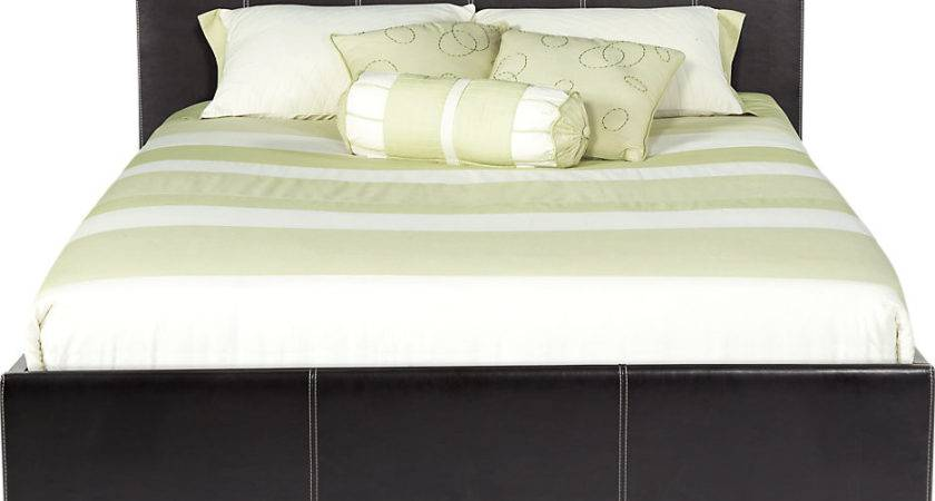 Belfair Brown Queen Bed Beds Dark Wood