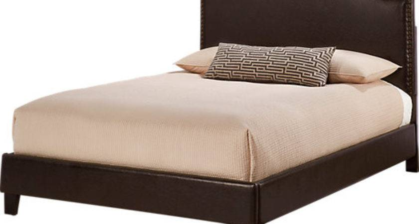 Belfield Brown Queen Bed Beds Dark Wood