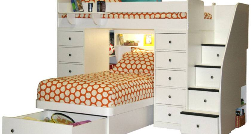Berg Sierra Twin Over Space Saver Bunk Bed