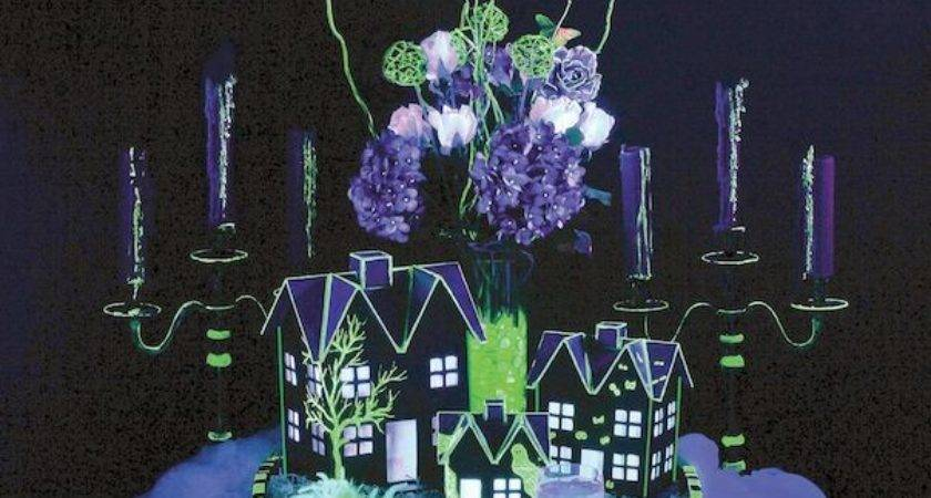 Best Black Light Decorating Ideas Halloween Party
