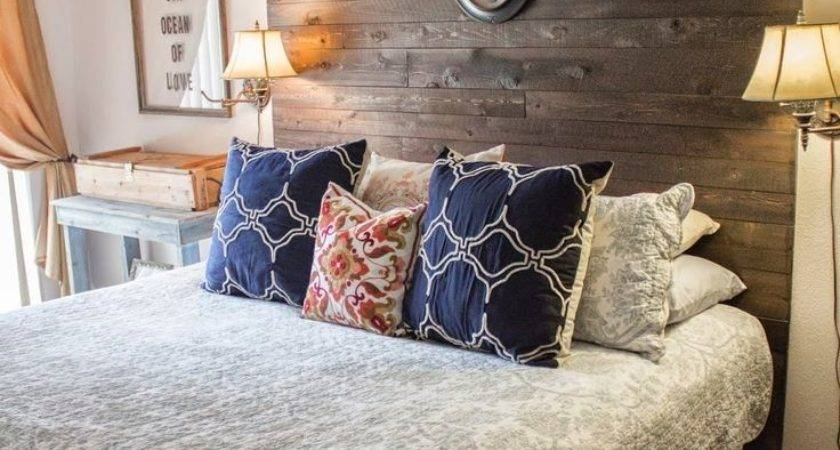 Best Diy Headboard Wood Ideas Pinterest Rustic
