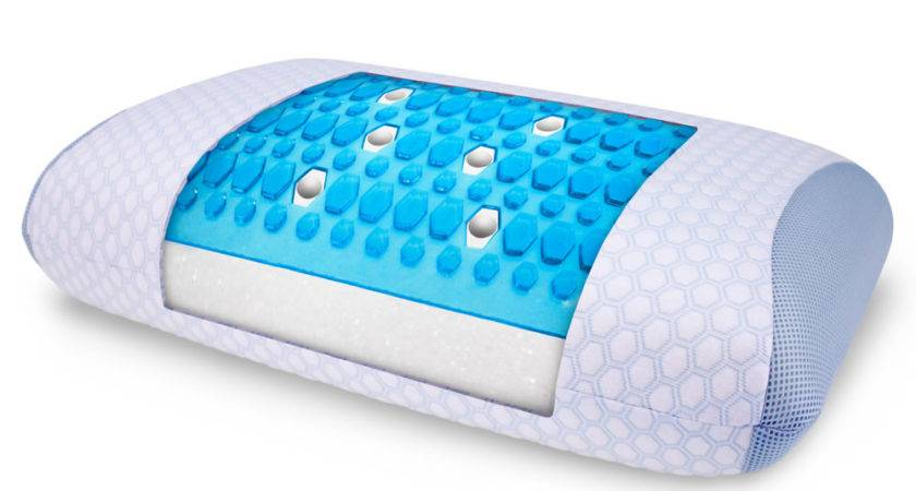 Best Gel Infused Cooling Pillow Hammacher Schlemmer