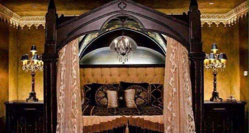 Best Gothic Bedroom Ideas Decoration Channel