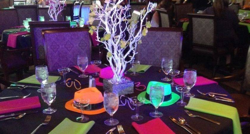 Best Neon Decorations Ideas Pinterest Glow Party