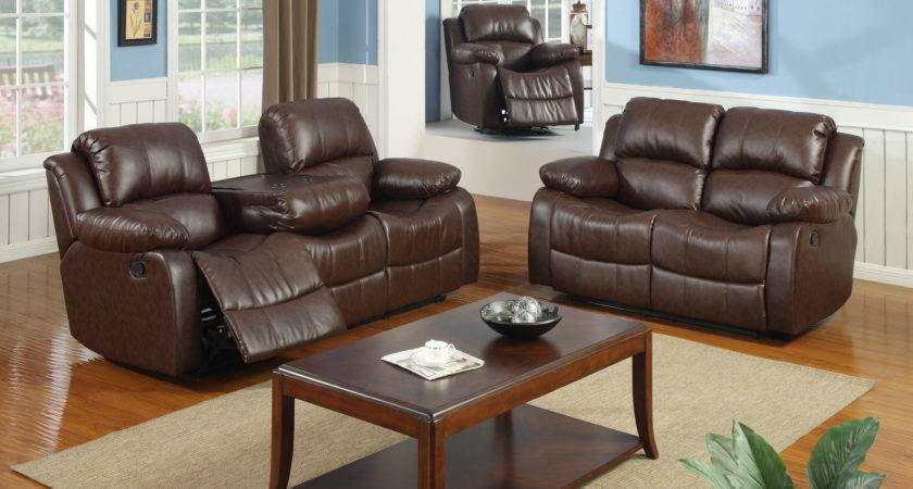 Best Quality Furniture Bonded Leather Piece Recliner