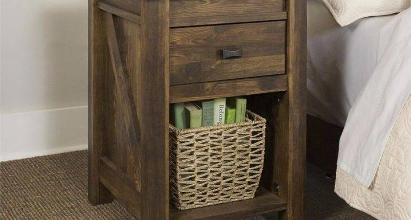 Best Rustic End Tables Ideas Pinterest