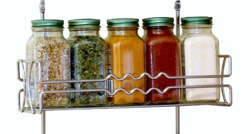 Best Wall Mounted Spice Rack More Messy Kitchen