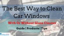 Best Way Clean Car Windows Without Glass