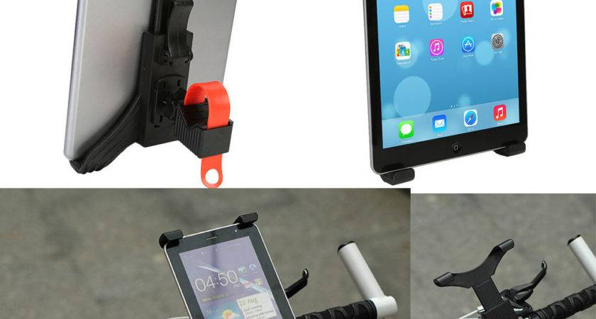 Bike Bicycle Motorcycle Microphone Stand Mount Tablet